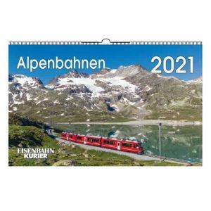 Alpenbahnen Kalender 2021