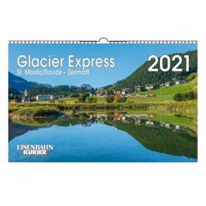 Glacier Express Kalender 2021