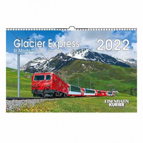 Glacier Express Kalender 2022
