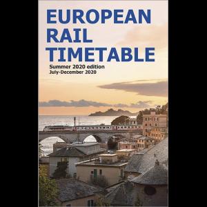 European Rail Timetable Summer 2020