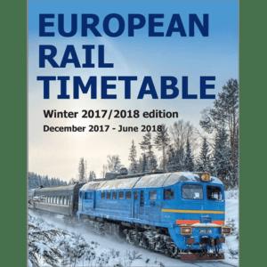 Europees Spoorboekje Winter 2018