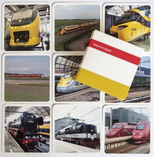 Spoorweg Memoryspel