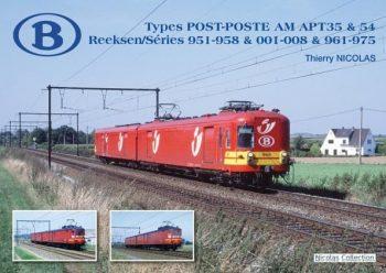 Type Post/poste - APT 35 & 54 - N.M.B.S. - België