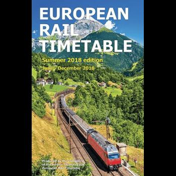 European Rail Timetable Summer 2018