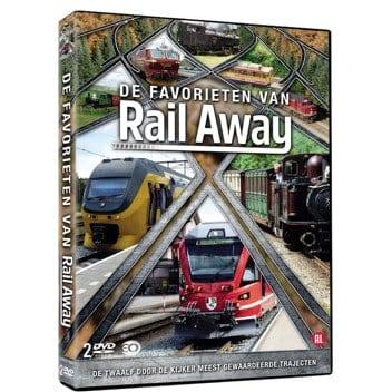 De Favorieten van Rail Away - DVD/BluRay
